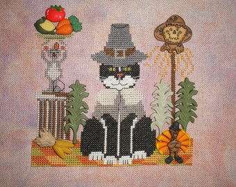 Thanksgiving Harvest X-stitch