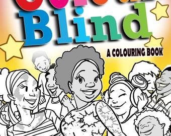 Education Multi-cultural colouring book.