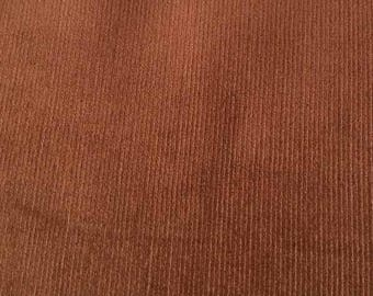 "SALE Coffee Featherwale Corduroy Fabric  --  44""/45"""" Wide"