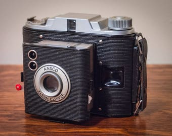 Ansco Flash Clipper, Film Camera, Antique, Antique Camera, 1930's, Ansco, Agfa, Film Photography, Photography, Vintage Camera, Art Deco