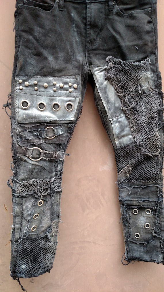 Mad Max Skinny Fit Post Apocalyptic Doomsday Jeans