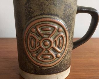 Vintage Tremar Pottery Tankard