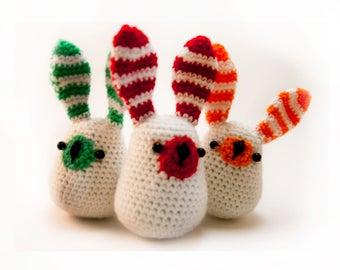 White Bunny Crochet