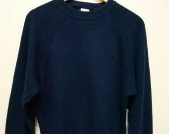 United Colors Of Benetton styled in Italy sweatshirt sweater jumper pullover small logo size s