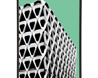 Brutalist Architecture Welbeck Street Car Park Pop Art Print Modernist Modernist Mid-Century Brutalism London Buildings 1960s