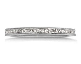 MJ 14k  Diamond Eternity band