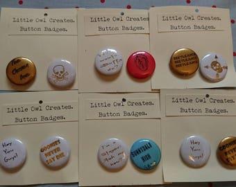 Button badge: Lucky Dip
