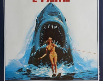 1978 Jaws II (French) - Original Vintage Poster