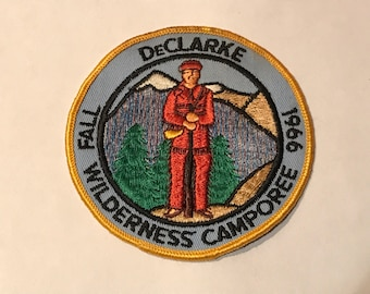 Vintage Boy Scouts of America DeClarke Wilderness Camporee 1966