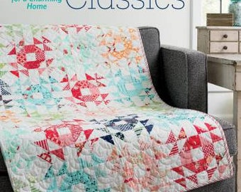 Quilt Pattern Book by Bonnie Olaveson:  Cotton Way Classics