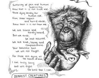 Dearest Creatures Print