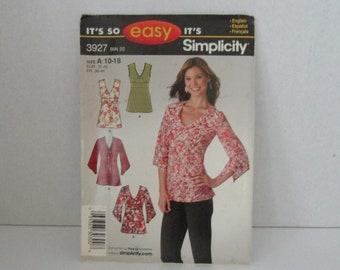 It's So Easy It's Simplicity Pattern 3927