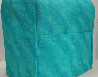Teal Sparkle Kitchenaid Stand Mixer Cover