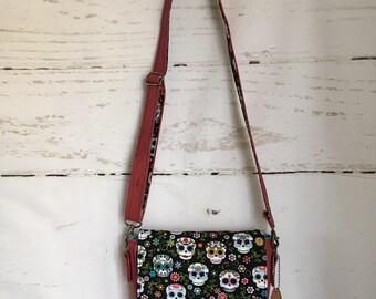 Skull Saddle Bag