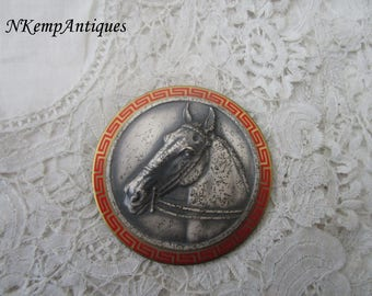 Old horse medal/plaque