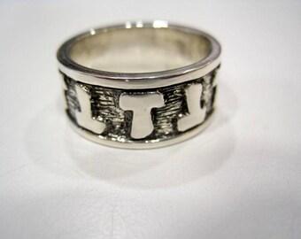 Band ring Silver 925 Tao