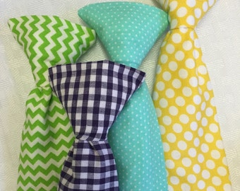 Boys ties, polka dot tie, argyle tie, checkered tie, plaid tie, Easter tie, gingham tie, clip on tie