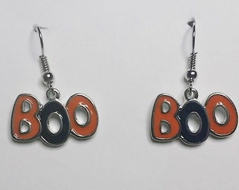 Halloween Boo Earrings