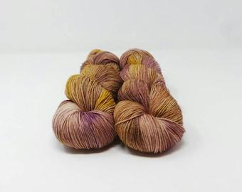 Baby Groot - 4ply Elegant Sock hand dyed yarn – Superwash Merino + Nylon 75/25