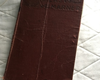 Vintage 'Silas Marner' Altered Book/Junk Journal