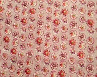 Kathy Davis for Free Spirit. Wildflower Dewdrops PWKD051 OOP HTF Mulberry Fat Quarter