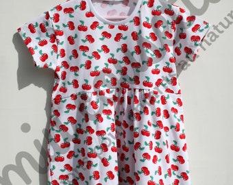 Cherry dress, size 6