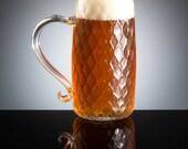 Nuevo English Beer Mug...aka Sparkles, Craft Beer, Beer Glass, Glassware