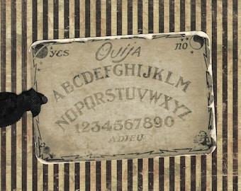 Halloween, Ouija Tags, Ouija Board, Party Favors, Halloween Tags, Ouija