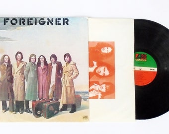 Foreigner Vintage LP: Foreigner Vinyl Record Album (1977, Atlantic Records) Classic Rock Cold As Ice