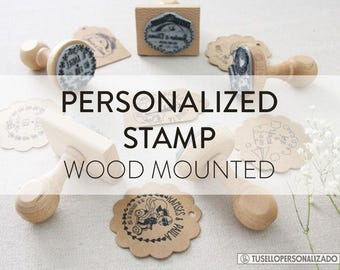 PERSONALIZED STAMP, RUBBER Stamp, Personalized Rubber Stamp, Custom Rubber Stamp, Logo Stamp, Personalised Stamp, Stamp, Stamps
