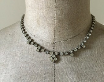 Vintage Diamante Choker