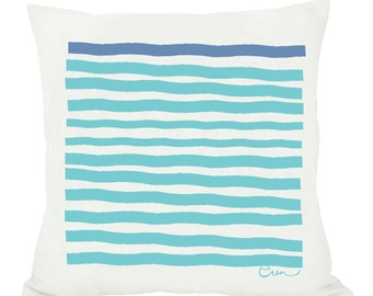 New Casco Stripe Pillow, 20in Pillow, 6 colors available