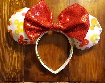 Mickey fruit ears