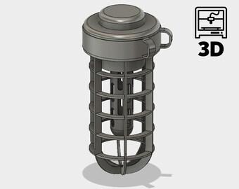 DIY Monster Hunter World: Scoutflies lantern 3D model for 3D printing