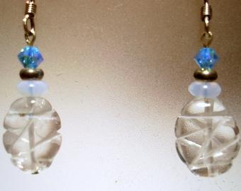 Quartz Dangle Earrings - E27