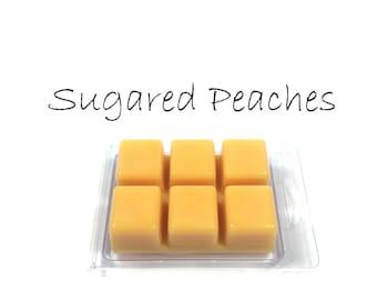 Sugared Peaches Scented Wax Tarts