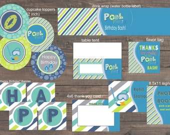 Party perfect design by partyperfectdesign on etsy for Pool design software free mac