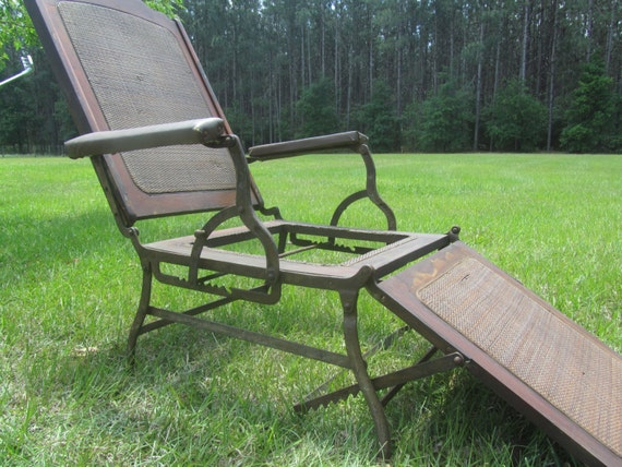 Like this item? - Antique Steamship Deck Chair Vintage Deck Chair Antique Wood