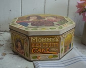 Vintage Cake Tin - Cake T...