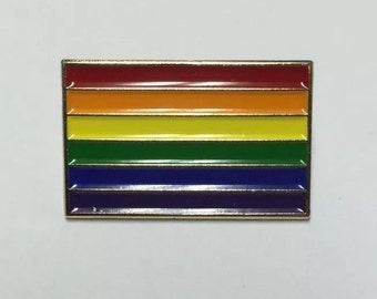 Rainbow Flag LGBT Pride Lapel Pin