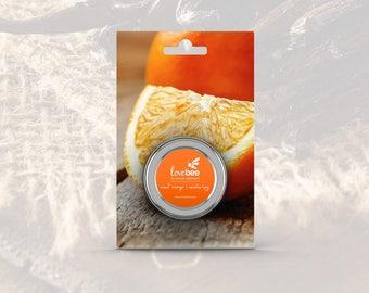 LoveBee Lipz Sweet Orange & Vanilla Lip Balm