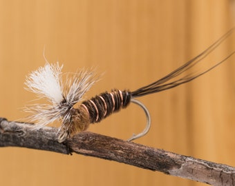 Borcher's Drake || hand tied || set of two