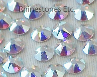 Crystal AB 16ss  Swarovski Elements Rhinestones Flat Back 1 gross (144 pieces)