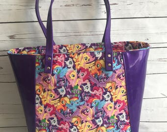 Tote, Everyday Tote, Carry All, Tote Bag, Bag, Purse, MLP, Pony, Little Pony, Ponies, Little Ponies