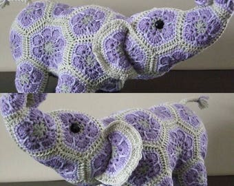Custom hand made African Flower Elephant