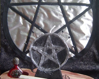 Pentacle Candle Protection/Vela pentacle Protective/