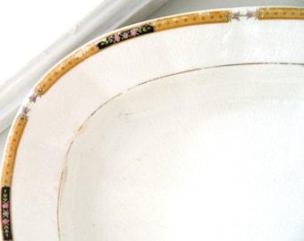Vintage Platter Ironstone Platter Serving Platter