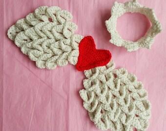 Angel Wings - Crochet Angel Wings -Newborn Angel Wings - Angel Wings Photo prop - Newborn Photo prop - Baby angel wings