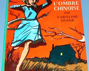 French Nancy Drew #18 Mystery at the Moss-Covered Mansion
