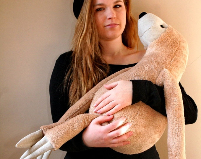 XXL Sloth, stuffed animal toy for children